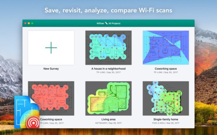 Wifiner - WiFi Analyzer Screenshot 03 58vluhn