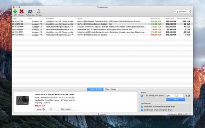 PriceWatcher Screenshot 02 9oof69n
