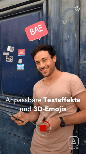 Arrow - AR-Texte und Emojis Screenshot