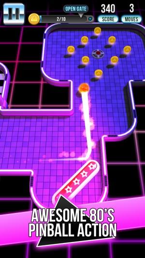 Retro Shot - Pinball Puzzle Game Screenshot