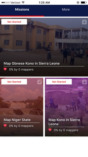 Mapswipe Screenshot
