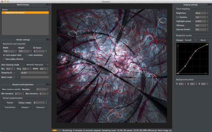 Chaotica Studio Screenshot 01 9ngf9gn
