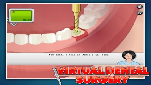 Virtual Dental Surgery Screenshot