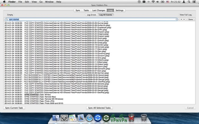 Sync Folders Pro Screenshot 05 cf188mn