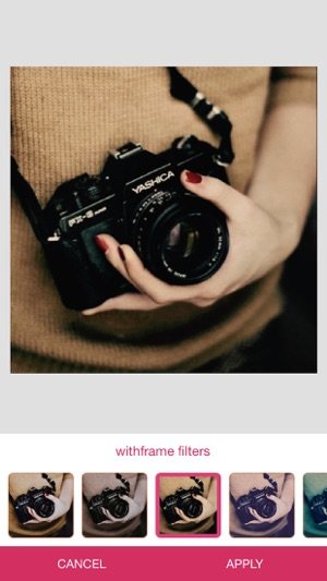 withFrame - Photo collage editor Screenshot