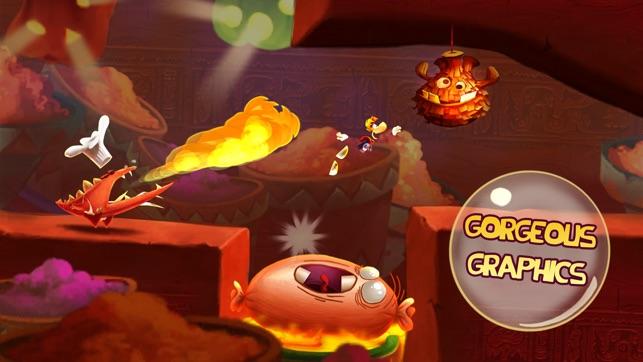 Rayman Fiesta Run Screenshot