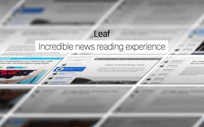 Leaf - RSS News Reader Screenshot 05 12uykvn