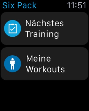 Runtastic Six Pack App Screenshot