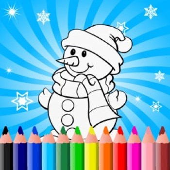Smartphone Christmas Coloring Book