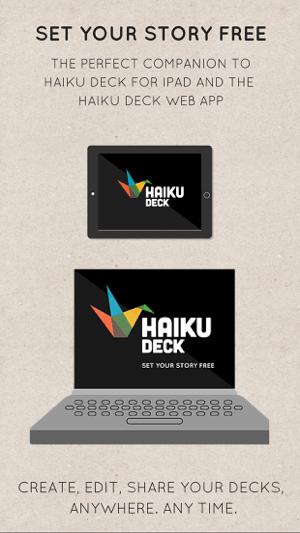 Haiku Deck Screenshot
