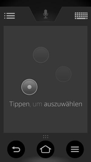 Amazon Fire TV Fernbedienung Screenshot