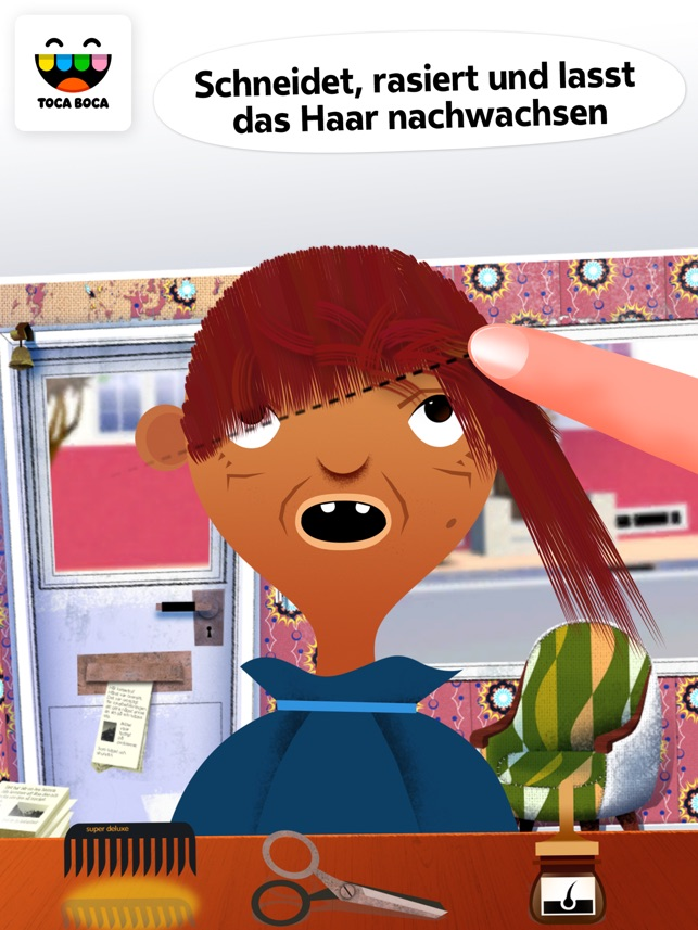 Toca Friseursalon Screenshot