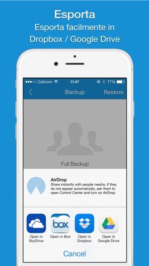 Easy Backup  Pro Screenshot
