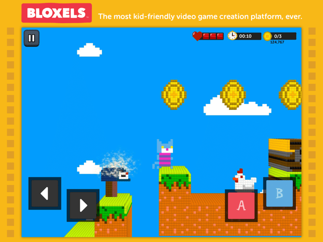 ‎Bloxels Builder Screenshot