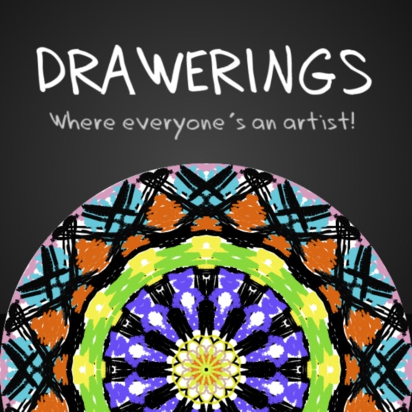 Drawerings - Mandala Kaleidoscope Drawings!