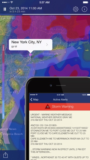 NOAA Radar Pro: Weather Alerts Screenshot