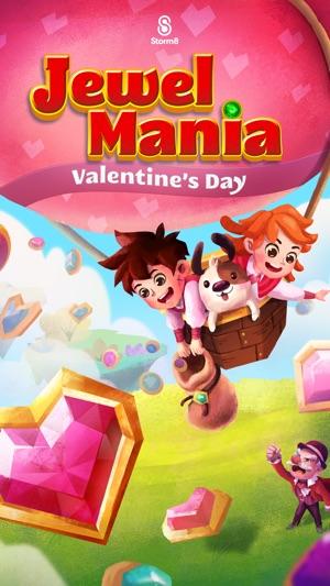 Jewel Mania Valentine's Screenshot