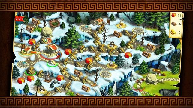 12 Labours of Hercules II: The Cretan Bull - A Strategy Hero Quest Game Screenshot