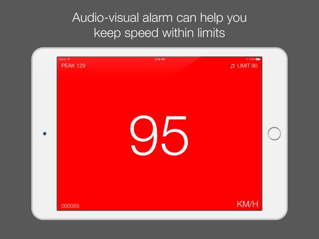 Speedo - speedometer with speed limiter and HUD mode Screenshot