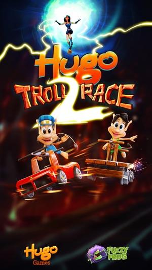 Hugo Troll Race 2. Screenshot