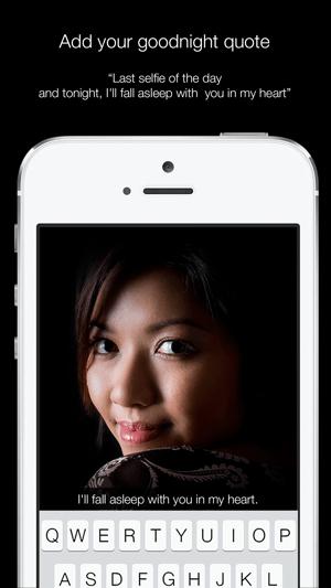 Nightly - Take selfies in the dark Capture d'écran