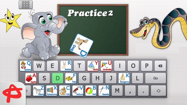 Clever Keyboard  ABC Learning Game For Kids on the App Store Screenshots