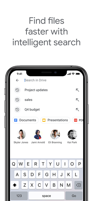 Google Drive - Dateispeicher Screenshot