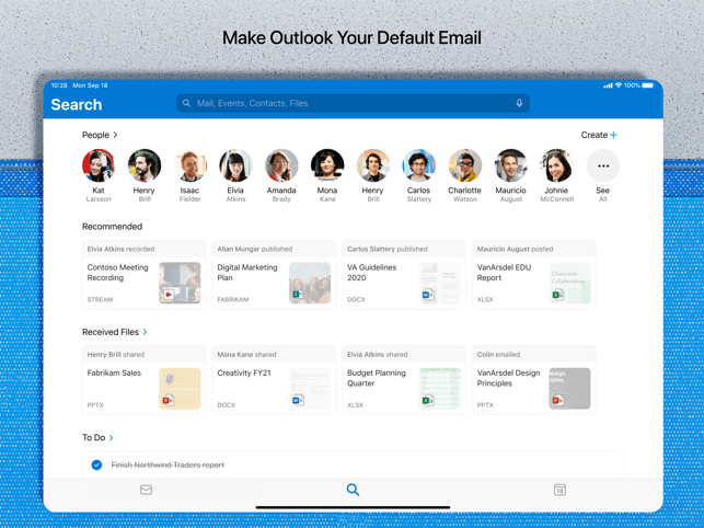 ‎Microsoft Outlook Screenshot