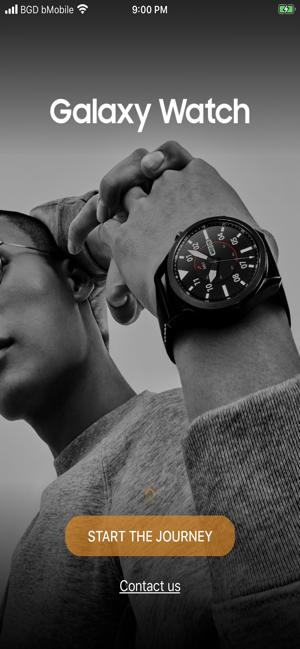 Samsung Galaxy Watch (Gear S) Screenshot