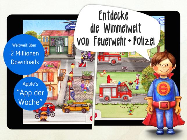 Tatütata: Wimmel-App Kinder Screenshot