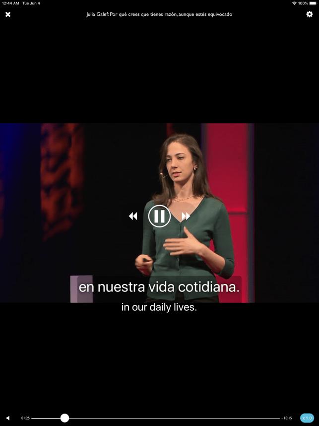 TEDICT Screenshot