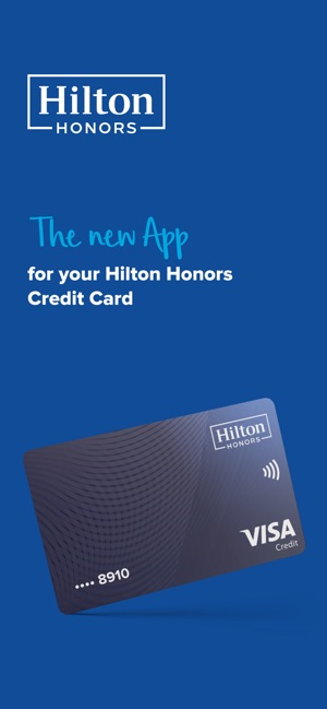The result of an application is mostly based on your credit score, although other factors are. Hilton Honors Credit Card App On The App Store