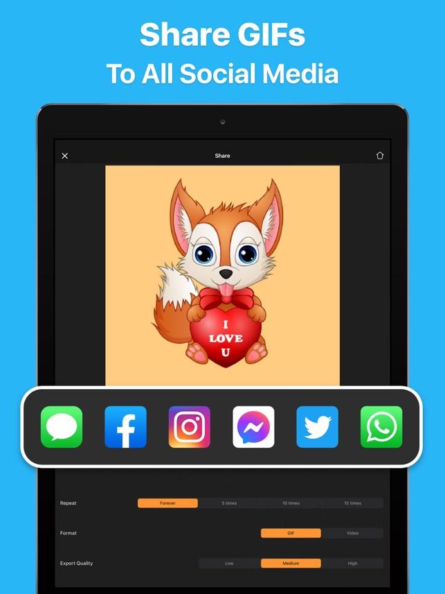 GIF Maker - Make Video to GIFs Screenshot