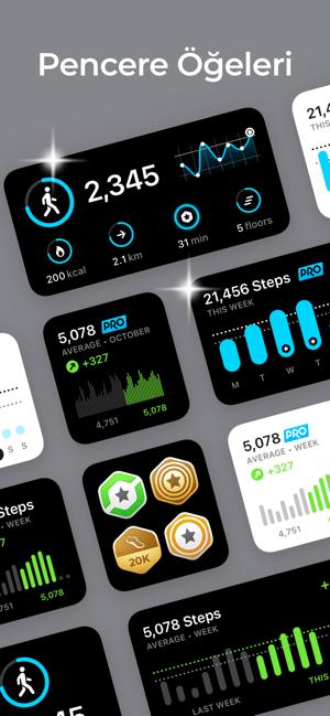 StepsApp Adım Sayar Screenshot