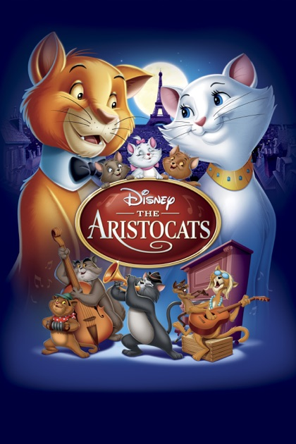 Aristocats Dvd Cover