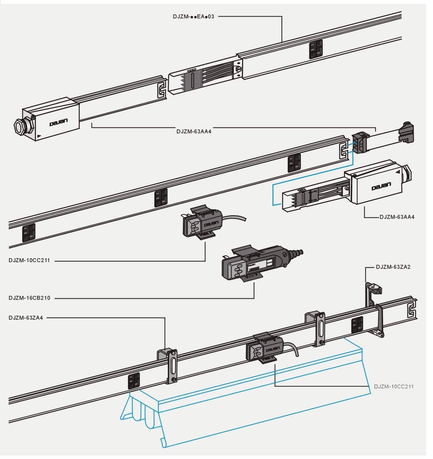 Lighting Busbar Trunking Manufacturer Supplier Amp Exporter
