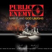 Public Enemy - Man Plans God Laughs  artwork