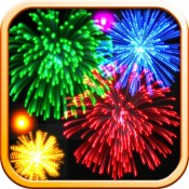 Real Fireworks Artwork 4-in-1 HD 2012 - Play Awesome Light Show, Enjoy Fun Visualizer, Make Cool Wallpapers and Draw Amazing Art with Colors & Glow