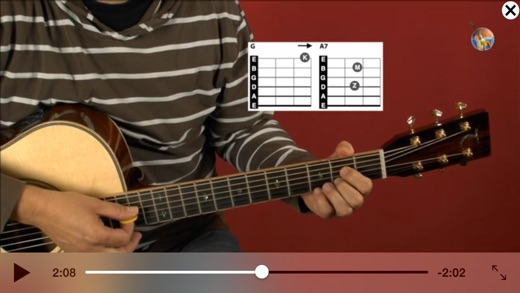 Guitar TV Gitarrenschule Screenshot