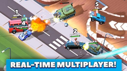 Crash of Cars Screenshot