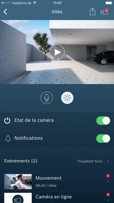 Bosch Smart Home caméra qualité image surveillance