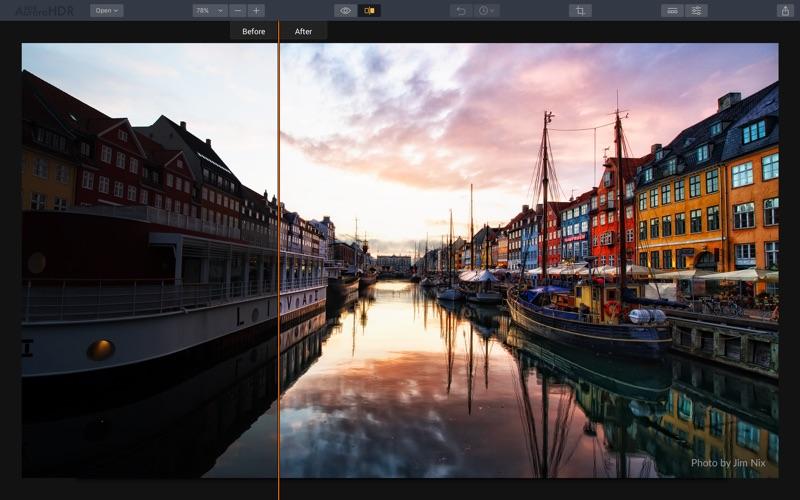 Screenshot do app Aurora HDR 2018