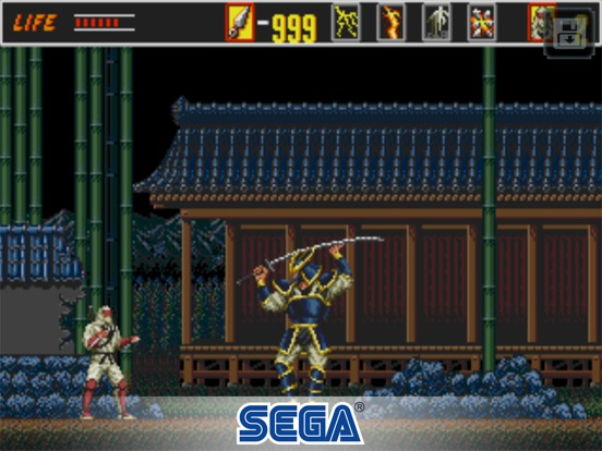 The Revenge of Shinobi Classic Screenshot