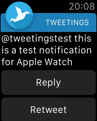 Tweetings Screenshot