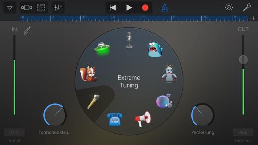 GarageBand Screenshot