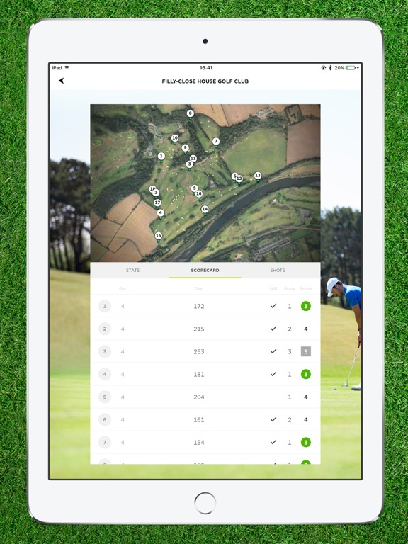 TomTom Golfer Screenshot