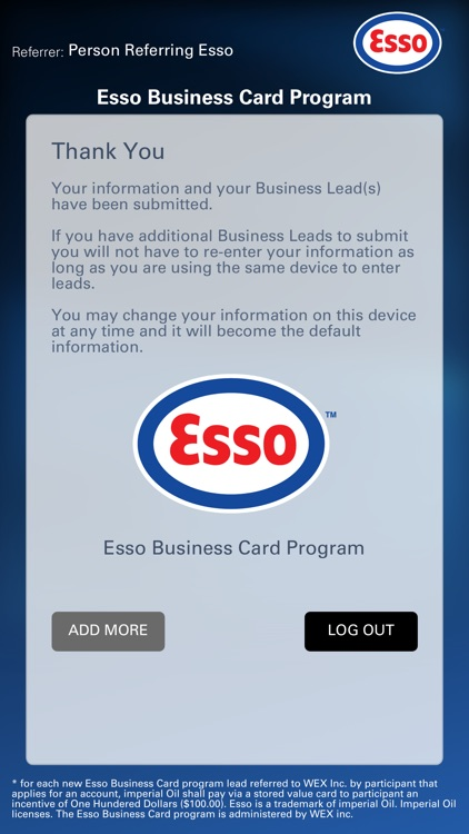 Esso business card sign in poemview esso business card sign in poemview co reheart Choice Image