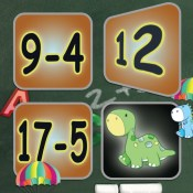 Subtraction Card Matching Game