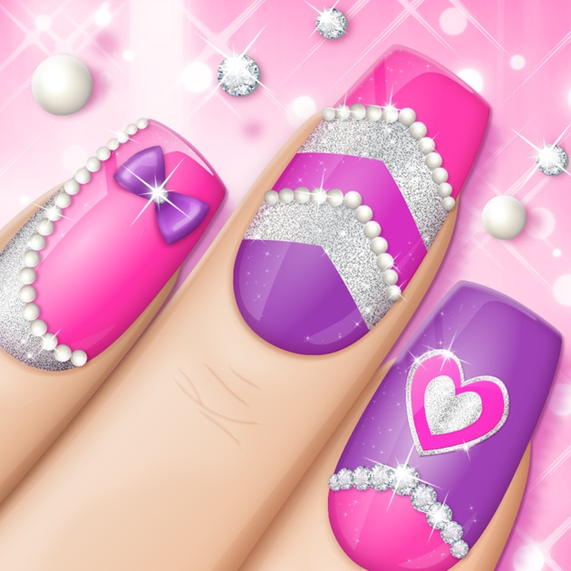 Fashion Nail Art Designs Game Pink Nails Manicure Salon And Beauty Studio For S On The App