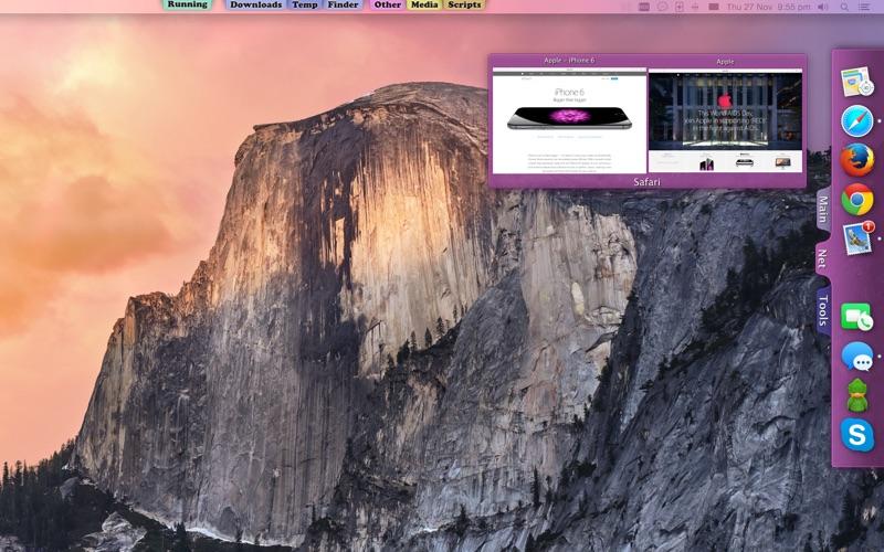 Tab Launcher Screenshot